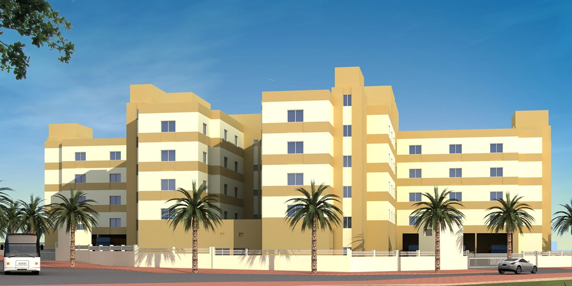 Labour Accommodation - DIP, Dubai Investment Park