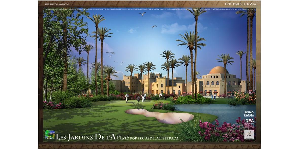 Les Jardin De L'Atlas , Marrakech, Morocco