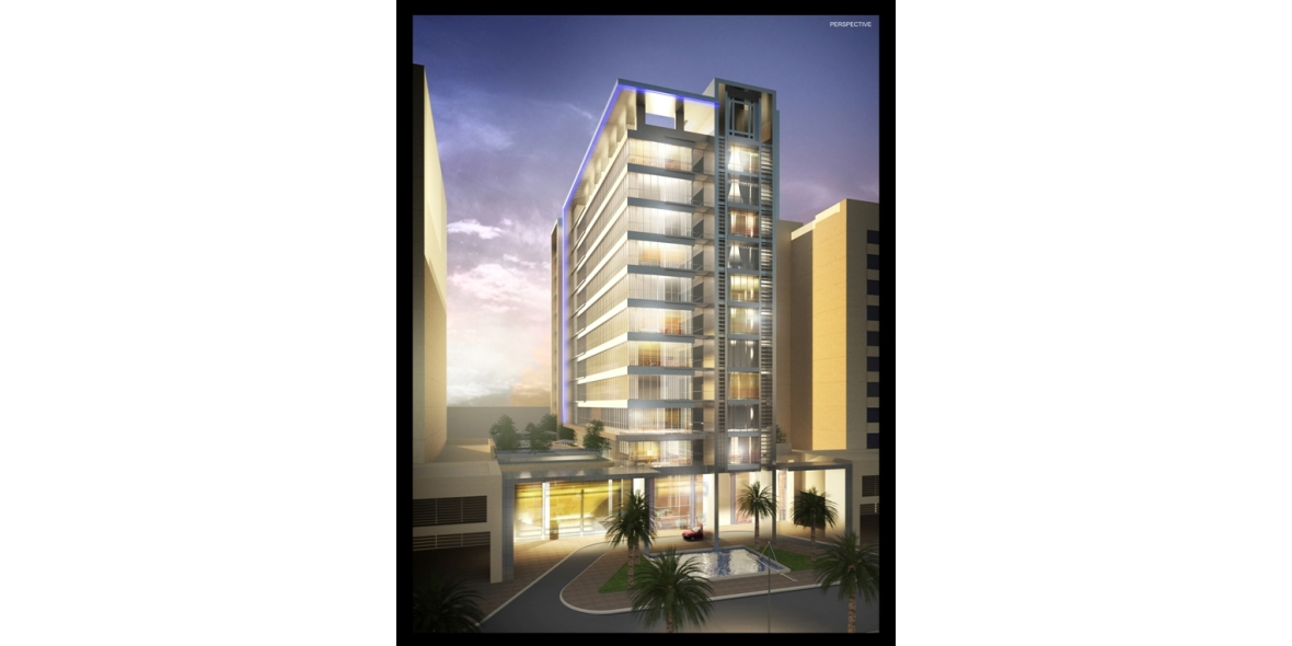Hotel at port saeed design consultants in dubai for K porte inn hotel dubai