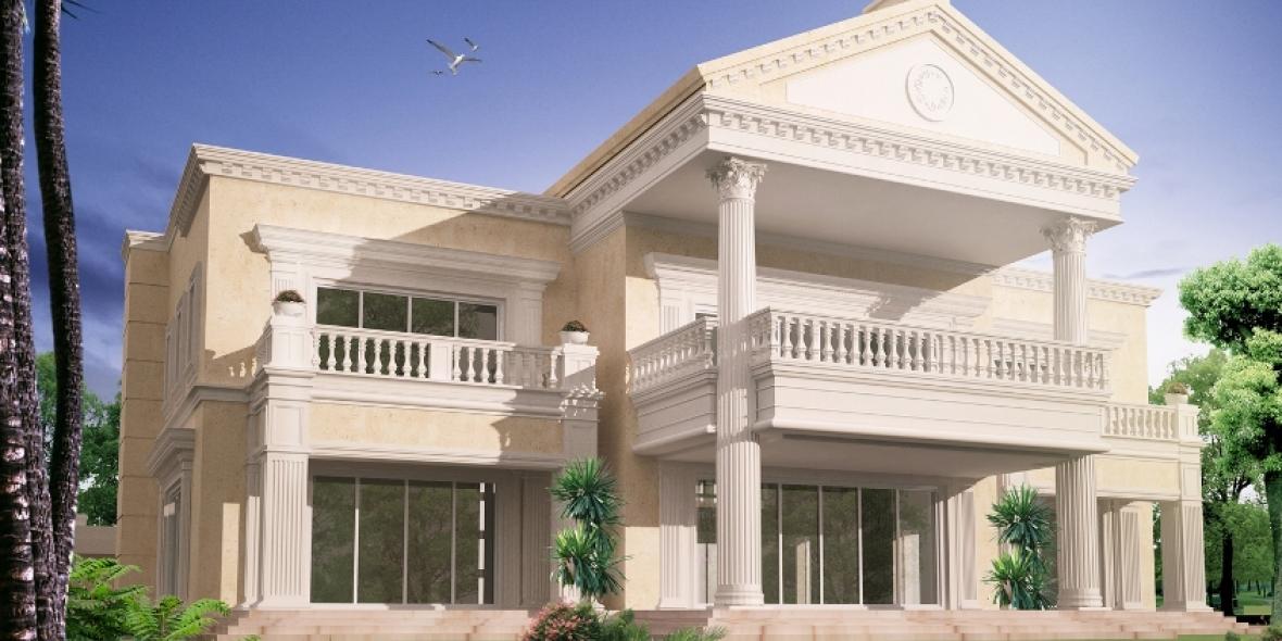 Villa at emirates hills interior design consultants dubai Home of architecture planning uae