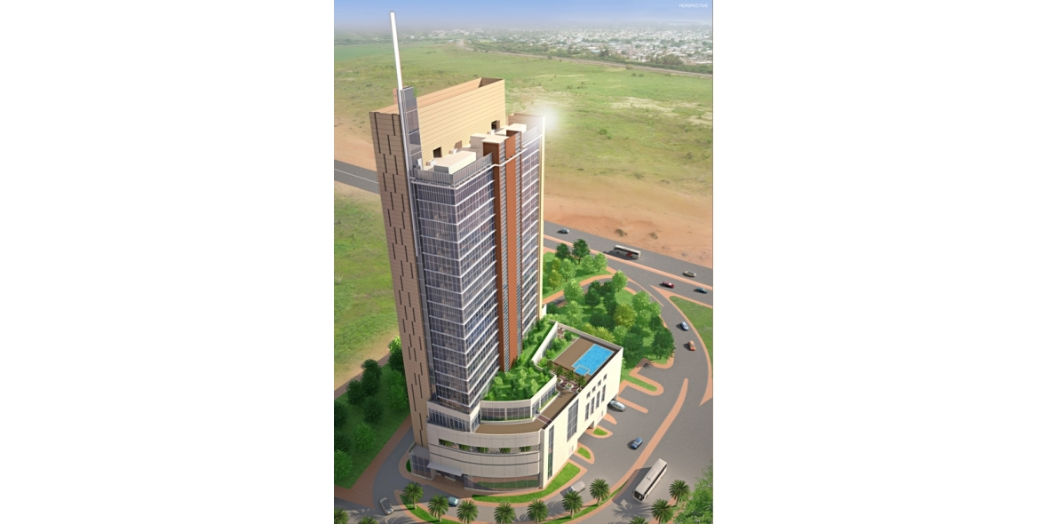 Hotel at downtown jebel ali top architecture firms in dubai for Architecture firms in dubai