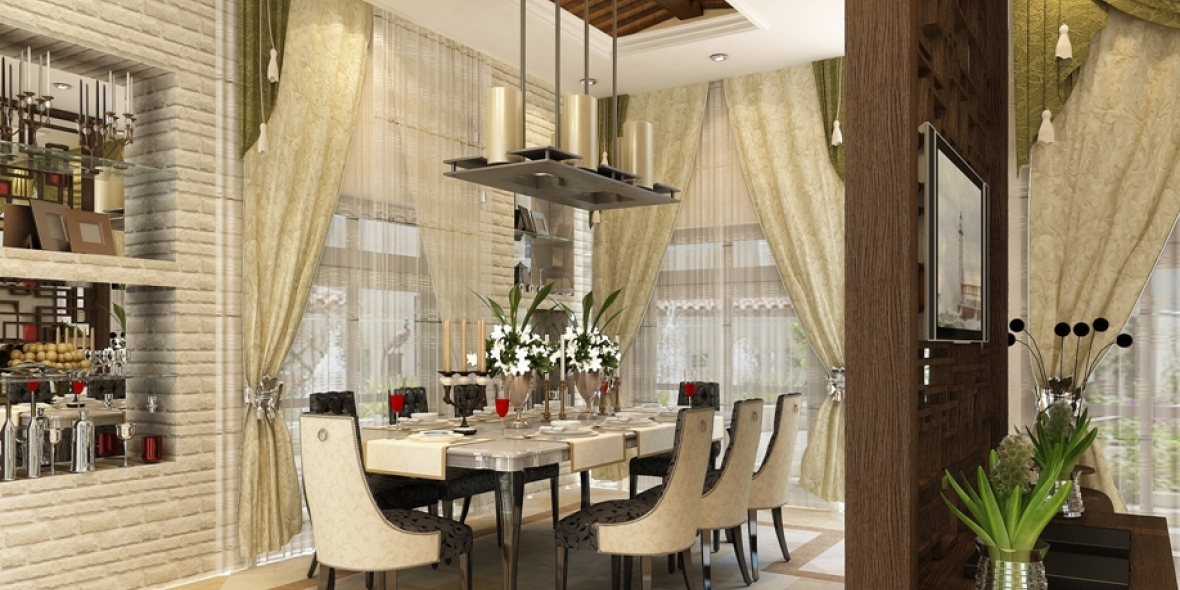 Al Jallaf photo sketch view of dining area
