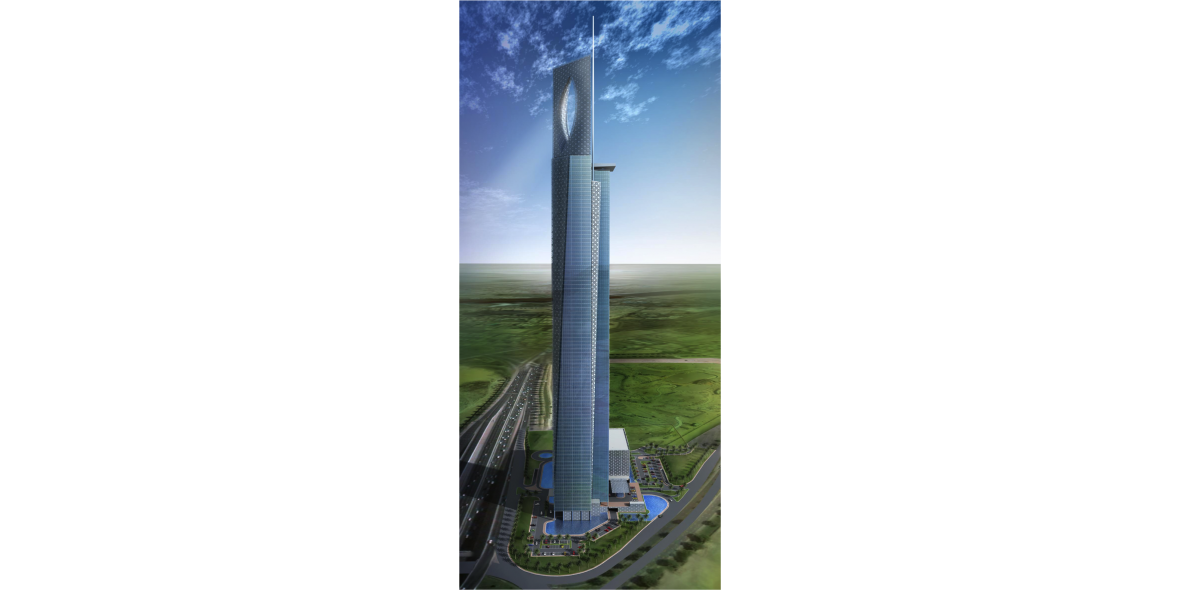 Tall Noor building sketch