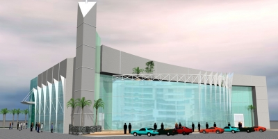 Al Fattan Showroom/ Office Building  ,Sheikh Zayed Road, Dubai, UAE