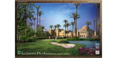 Les Jardin De L'Atlas  ,Marrakech, Morocco